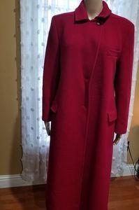 Vintage Pendleton red wool coat sz 8